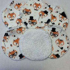 Eco-friendly, Foxy, reusable makeup remover pads