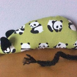 Handmade Catnip Mouse - Panda - Cat Toy with Extra Strong Catnip - FREE  POSTAGE