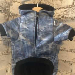 Custom-made mix and match dog hoodie