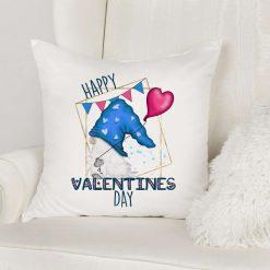 Happy Valentines Gnome Cushion