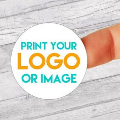 234x 19mm Personalised Round Stickers | Any Logo | Any Design