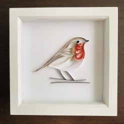 Quilled Robin