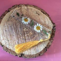 Bookmark with flowers