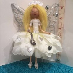Summary Flower all in white  fairy