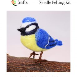 MillyRose Crafts Blue Tit Needle Felting kit