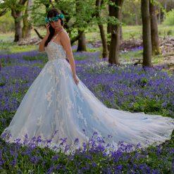 A-Line fairy Tale Lace Wedding Dress | Gown Style Bleu