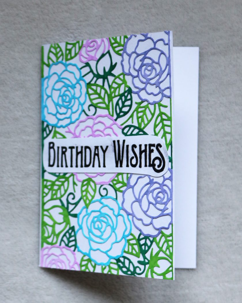 Birthday Wishes Greetings Card