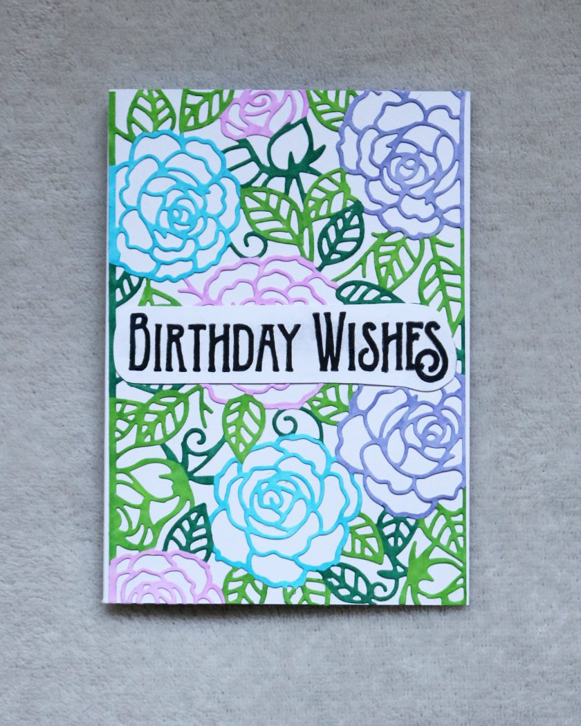 Birthday Wishes Greetings Card 1