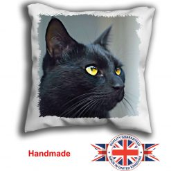 Bengal Cat Cushion Cover, Bengal Cat Cushion, Bengal Cat Pillow, 6 Sizes, Handmade