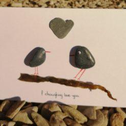 Choughing love you card