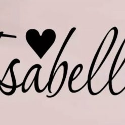 Personalised Name Wall Art Decal