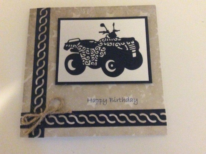 Handmade Birthday Card 1