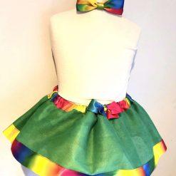 Handmade tutu skirt set