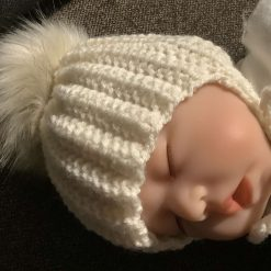 Hand knitted baby hats Newborn