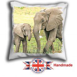 Elephant Cushion Cover, Two Elephant Cushion, 6 sizes, Handmade