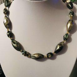 Bronze coloured necklace