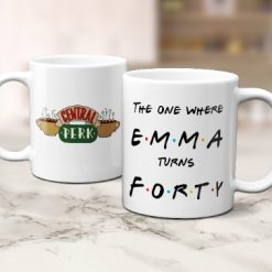 Friends mug, personalised gift, the one where, friends gift
