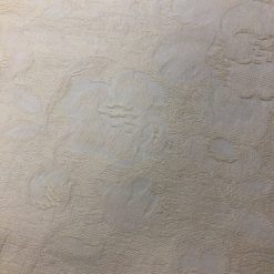 Cushion cover in self patterned cream fabric 1