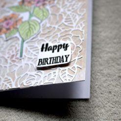 Happy Birthday Flower Greetings Card 2