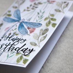 Dragonfly Happy Birthday Greetings Card 3