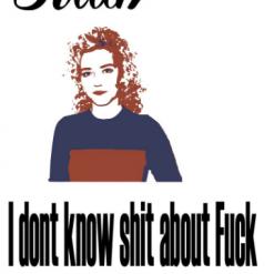 I Don't know shit Svg | Cricut | Silhouette | SVG ESP DXF JPEG PNG PDF