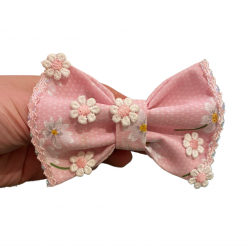 Pink Paradise bow tie