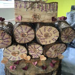 Personalised Log Table Plan