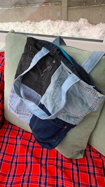 Zipped pocket bag 1