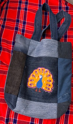 Child's applique bag 9 1