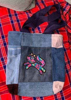 Child's applique bag 8 1