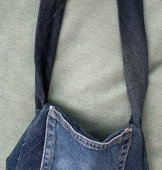 Child's denim shoulder bag 1