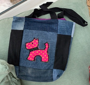 Child's applique bag 2 1