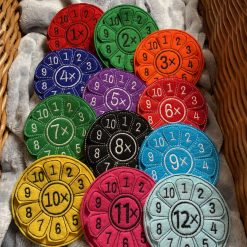 Multiplication Flowers - Times Table Wheels 1-12 tables