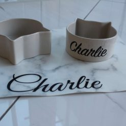Personalised Cat Bowls - Set of 2