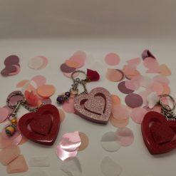 Valentines keyring
