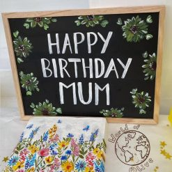 Personalised Handpainted Chalkboard