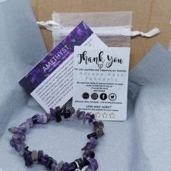 Fluorite Starry Night Bracelet