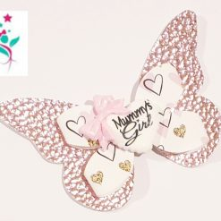 Mummy's Girl Butterfly Hairbow