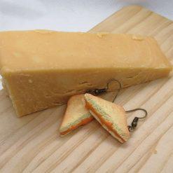 Cheese Please earrings