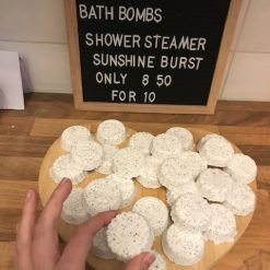 Sunshine Burst Aromatherapy Shower Shower Bombs x5 1