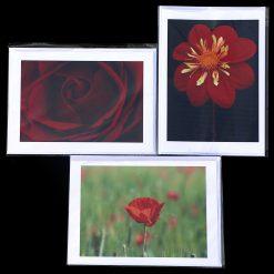 Handmade greetings cards, Flower mix 1