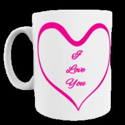 I Love You - Valentines Day Mug