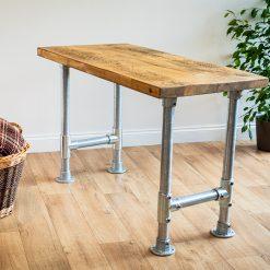 Home Office Desk - Scaffolding Leg Desk - Corner Home Desk - Work Table