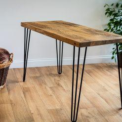 Home Office Desk - Hairpin Leg Desk - Corner Home Desk - Work Table