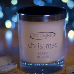 Christmas Meditation Candle - Fig & Snowberry