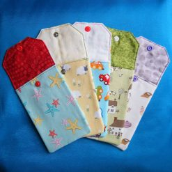 Reusable money/phone pouch/cutlery holders