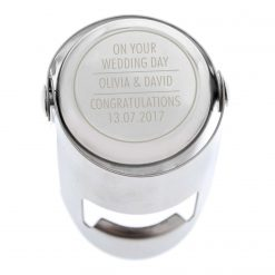 Personalised Classic Wine Bottle Stopper 17