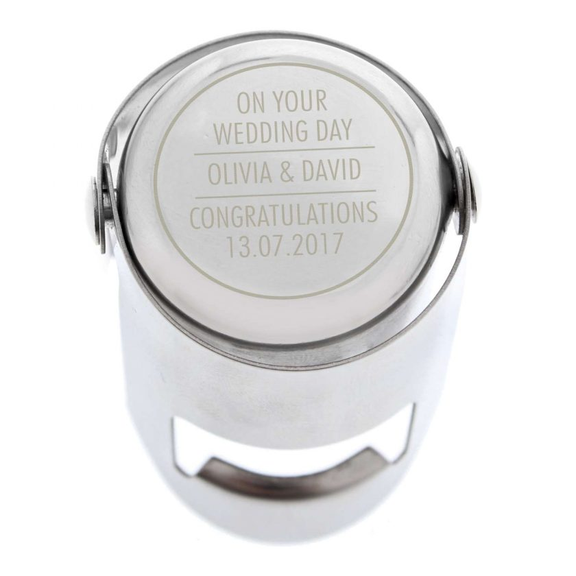 Personalised Classic Wine Bottle Stopper 9
