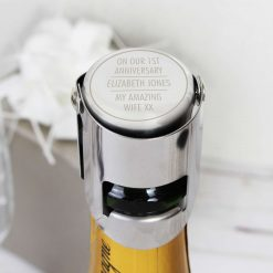 Personalised Classic Wine Bottle Stopper 15