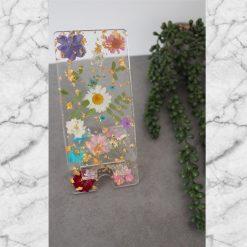 Handmade Dried Flower Resin Phone Stand, Phone Holder/Stand, Perfect gift, birthday present.